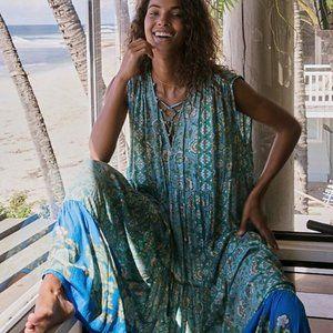 NWT FREE PEOPLE Hanalei Bay Maxi Dress Size L